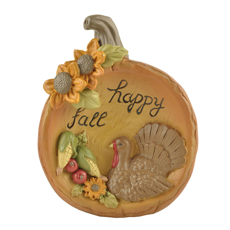 2019 Hot-Selling Home Decoration Gift Resin Craft Pumpkins For Halloween