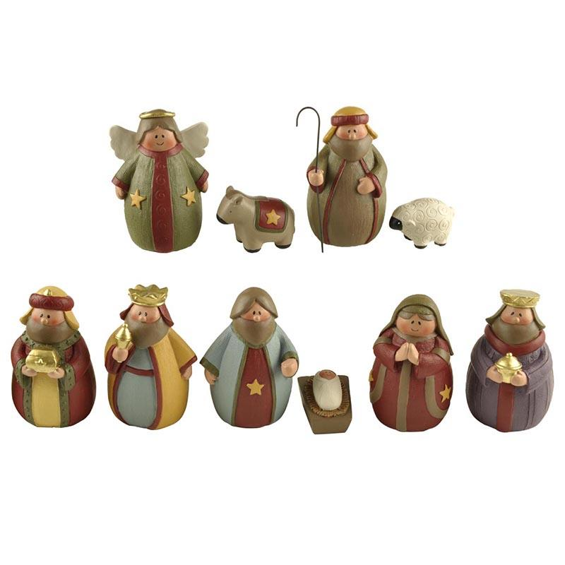 Ennas christmas church figurine promotional