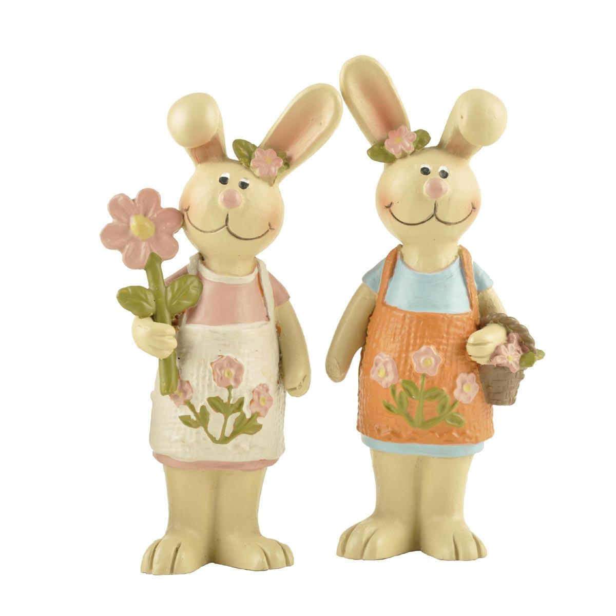 Ennas easter bunny figurines top brand micro landscape