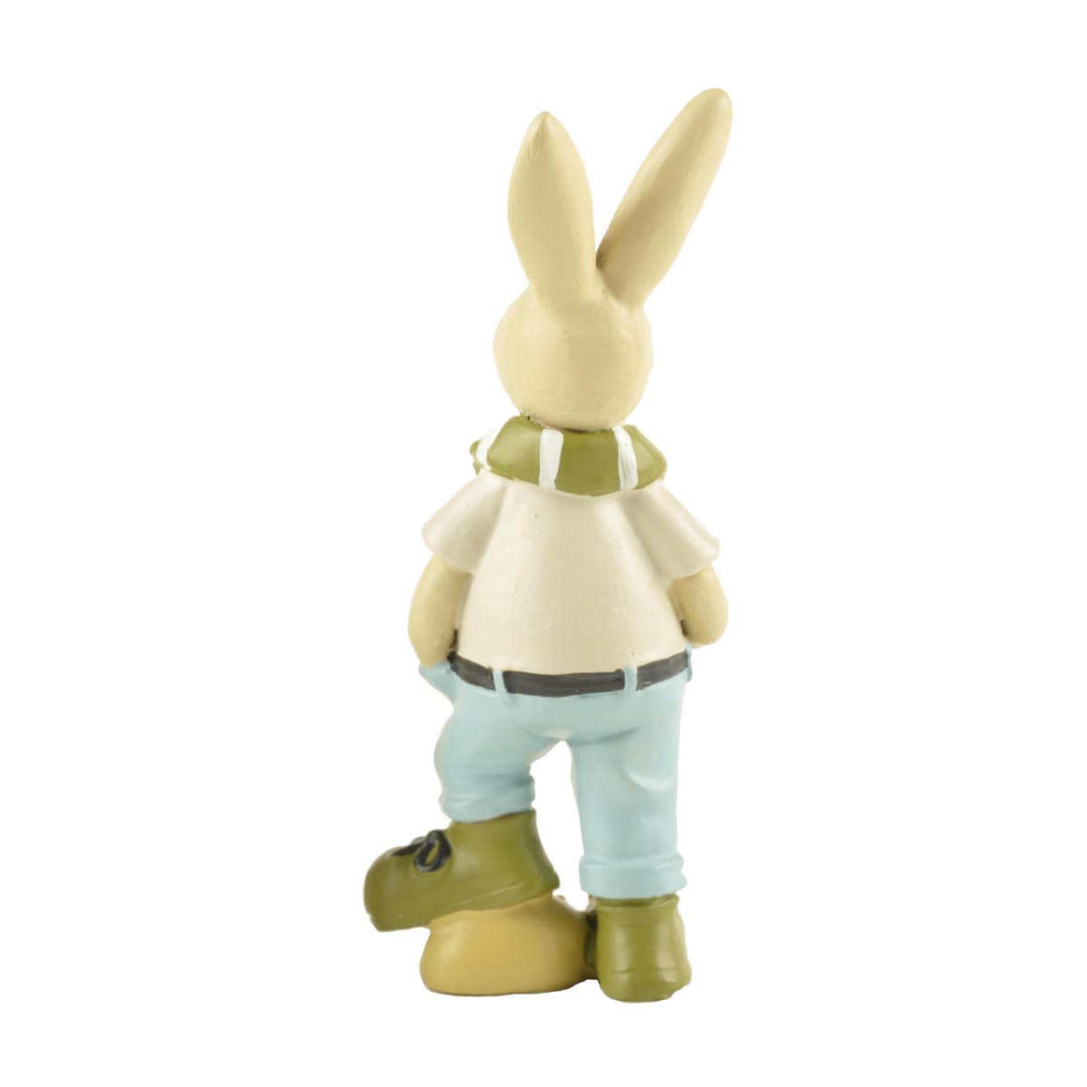Ennas free sample easter rabbit figurines polyresin for holiday gift-1