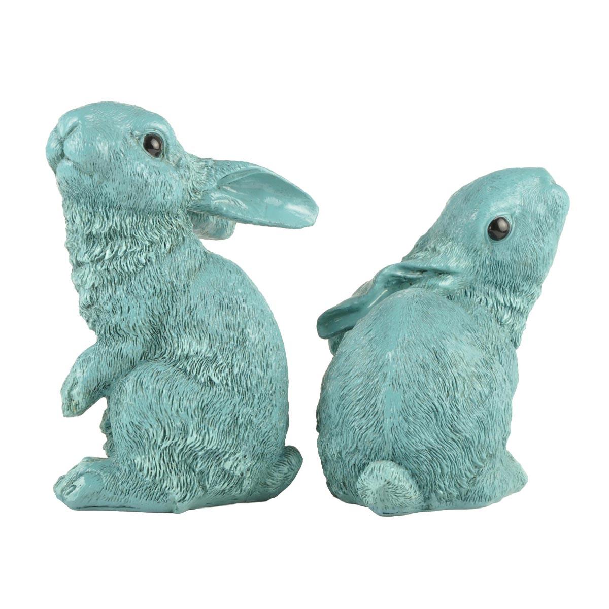 Ennas vintage easter bunny figurines oem micro landscape-2