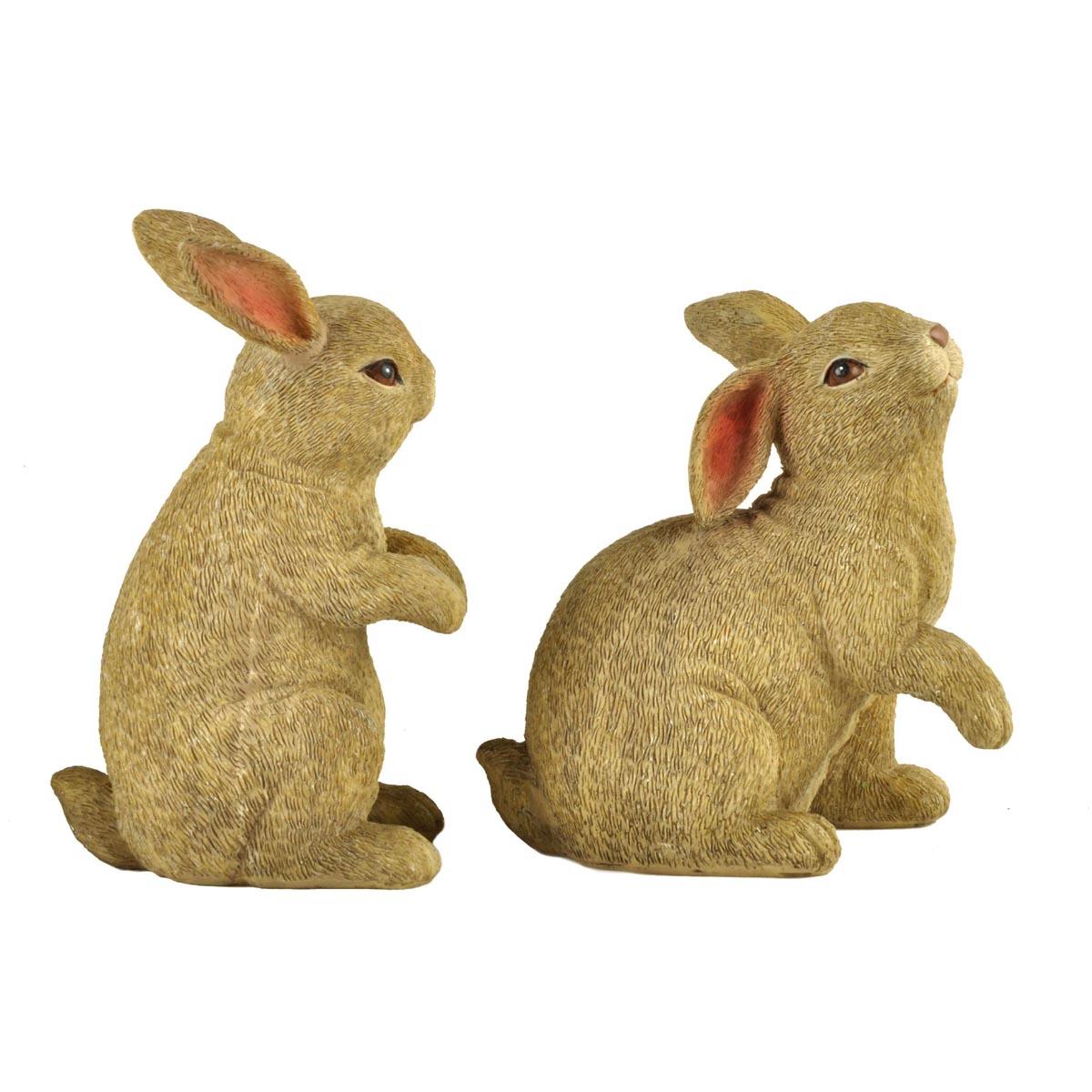Ennas easter rabbit decor polyresin home decor-2
