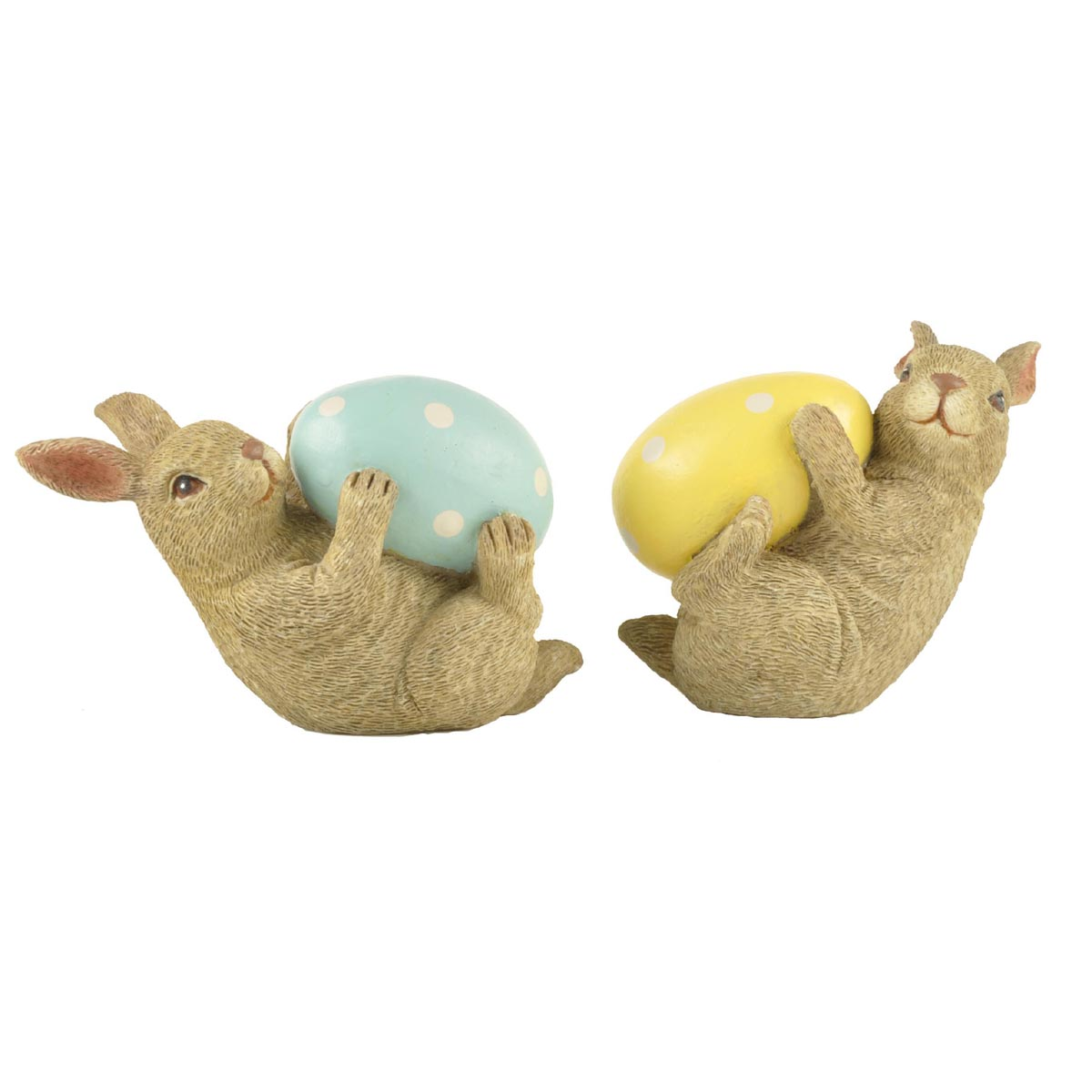 Ennas vintage easter bunny figurines top brand for holiday gift-1