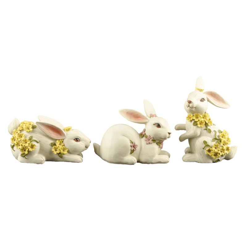 free sample easter bunny decorations polyresin home decor