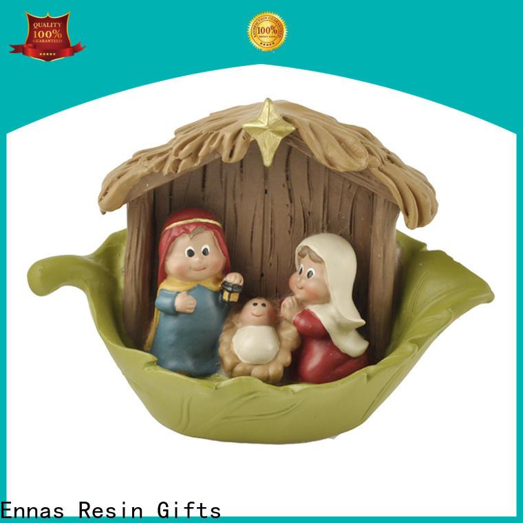 Ennas eco-friendly christian figurines popular family decor