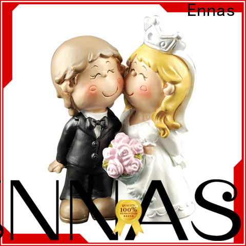 Ennas family statue wedding cake figurines hot-sale