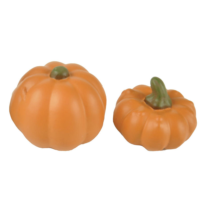 2020 Halloween Home Decoration S/2 Pumpkin Statues PH15141