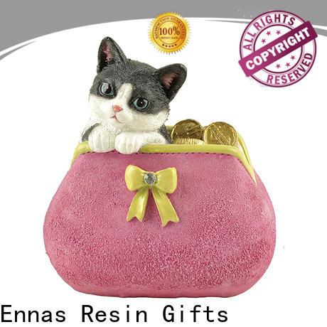 Ennas realistic decorative animal figurines hot-sale
