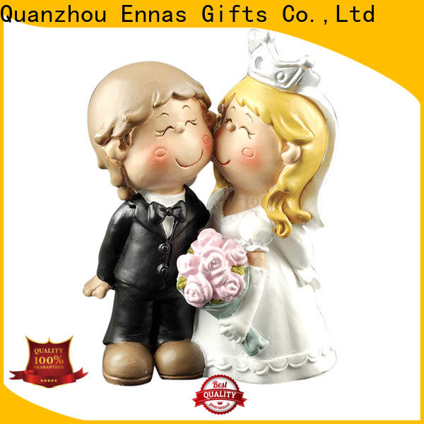 Ennas miniature funny wedding cake toppers hot-sale birthday decor