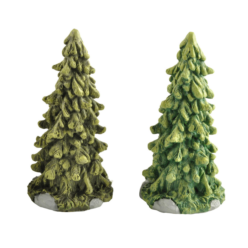 Cost-Effective Xmas Ornaments Christmas Resin Christmas Tree Set PH15419