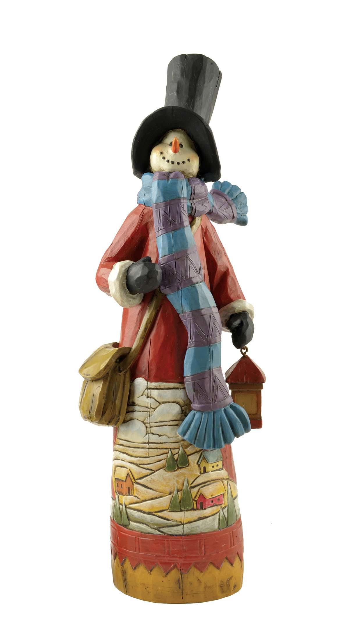 snowman christmas figurines bulk production