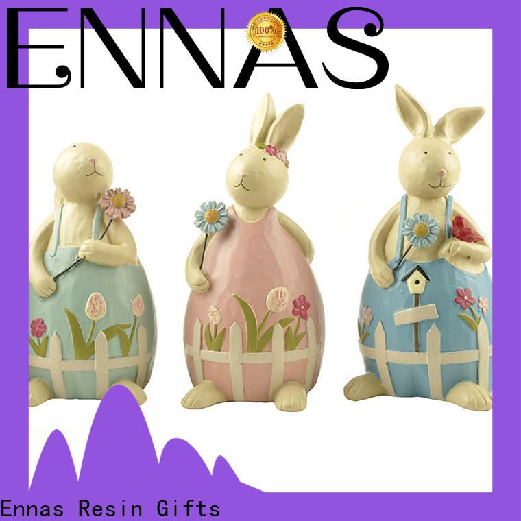 Ennas handmade dog figurines toys animal resin craft