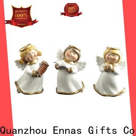 Ennas family decor angel figurine colored fashion