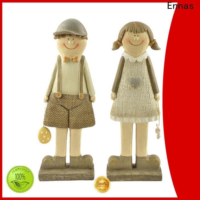 Ennas easter bunny figurines handmade crafts micro landscape