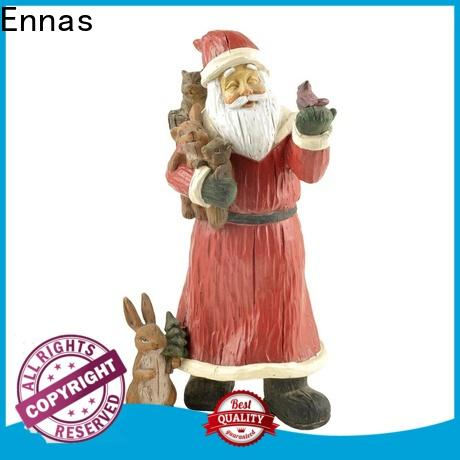 OEM holiday figurines decorative for gift