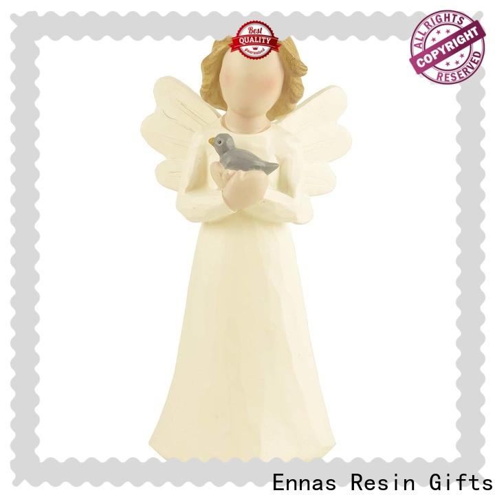 Christmas personalized angel figurine lovely best crafts