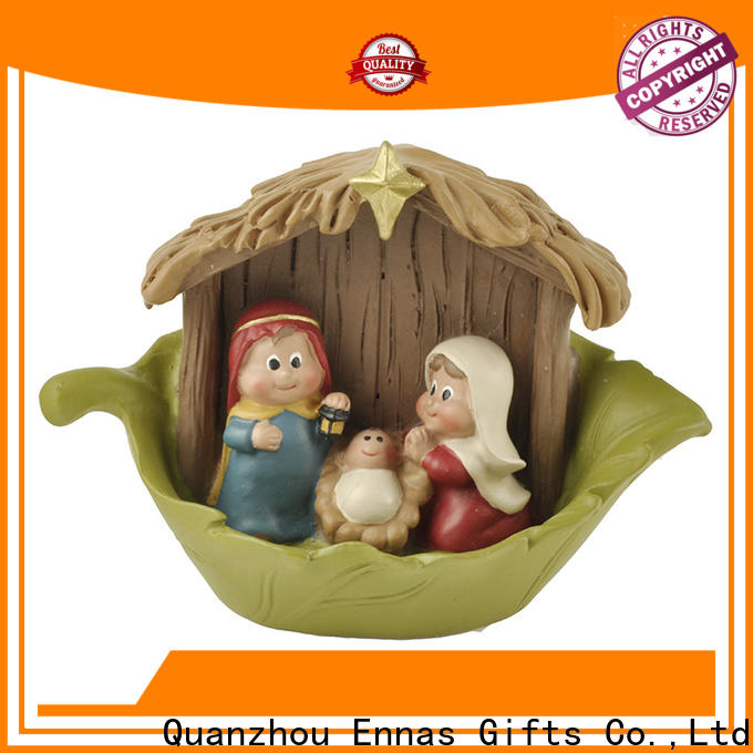 Ennas christmas catholic religious items promotional craft decoration