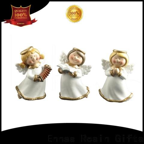 Ennas personalized angel figurine lovely for ornaments