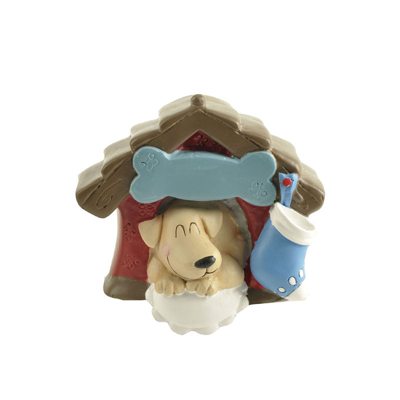 realistic dog figurines decorative free delivery-1