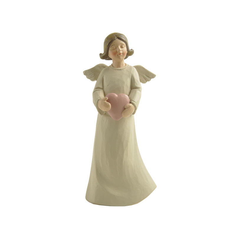 artificial beautiful angel figurines handicraft for decoration