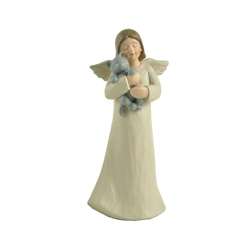 Christmas resin angel figurines top-selling at discount