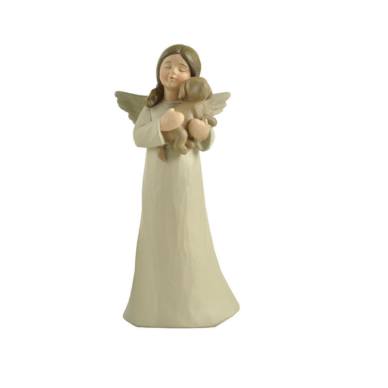 carved angel figurine collection creationary at discount
