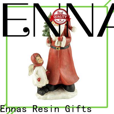 Ennas animated christmas figures polyresin at sale