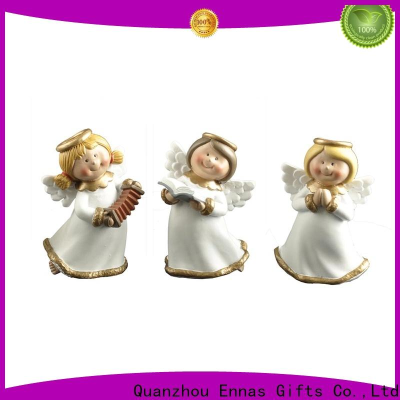 Ennas Christmas angel figurines collectible lovely for decoration