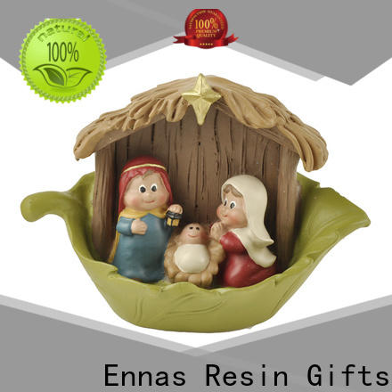 Ennas eco-friendly christian figurines promotional holy gift
