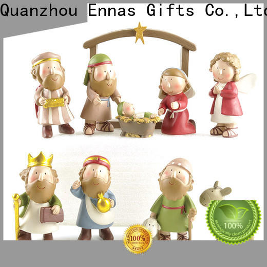 Ennas eco-friendly religious sculptures bulk production craft decoration
