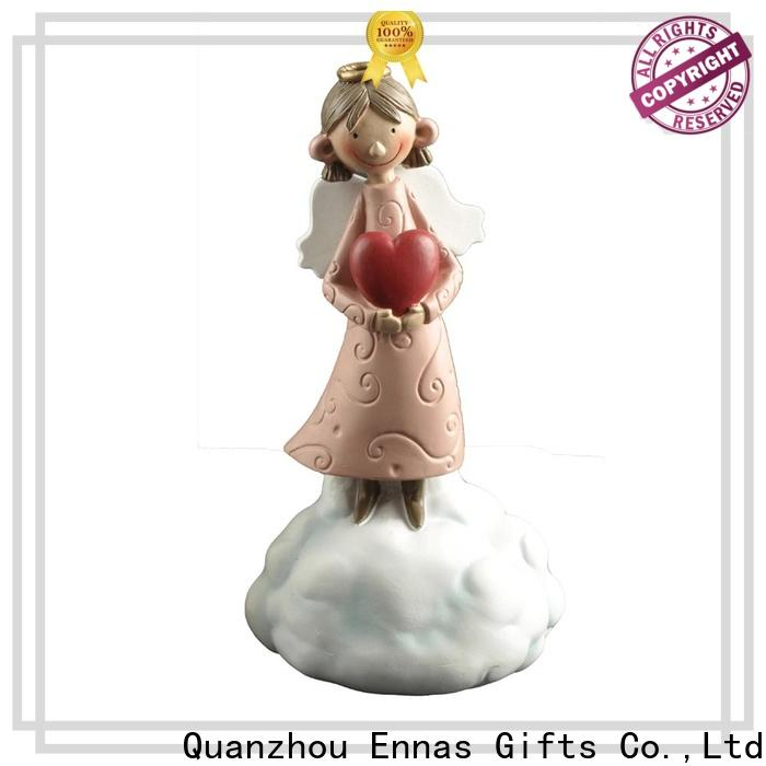 Ennas religious angel figurine collection lovely for decoration