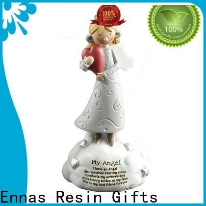 Ennas artificial little angel figurines handmade for ornaments