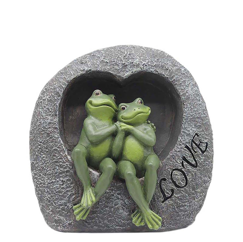 Garden Decorations Statues Love Couple Frogs Resin Indoor Figurine for Yard Home GardenPH15813