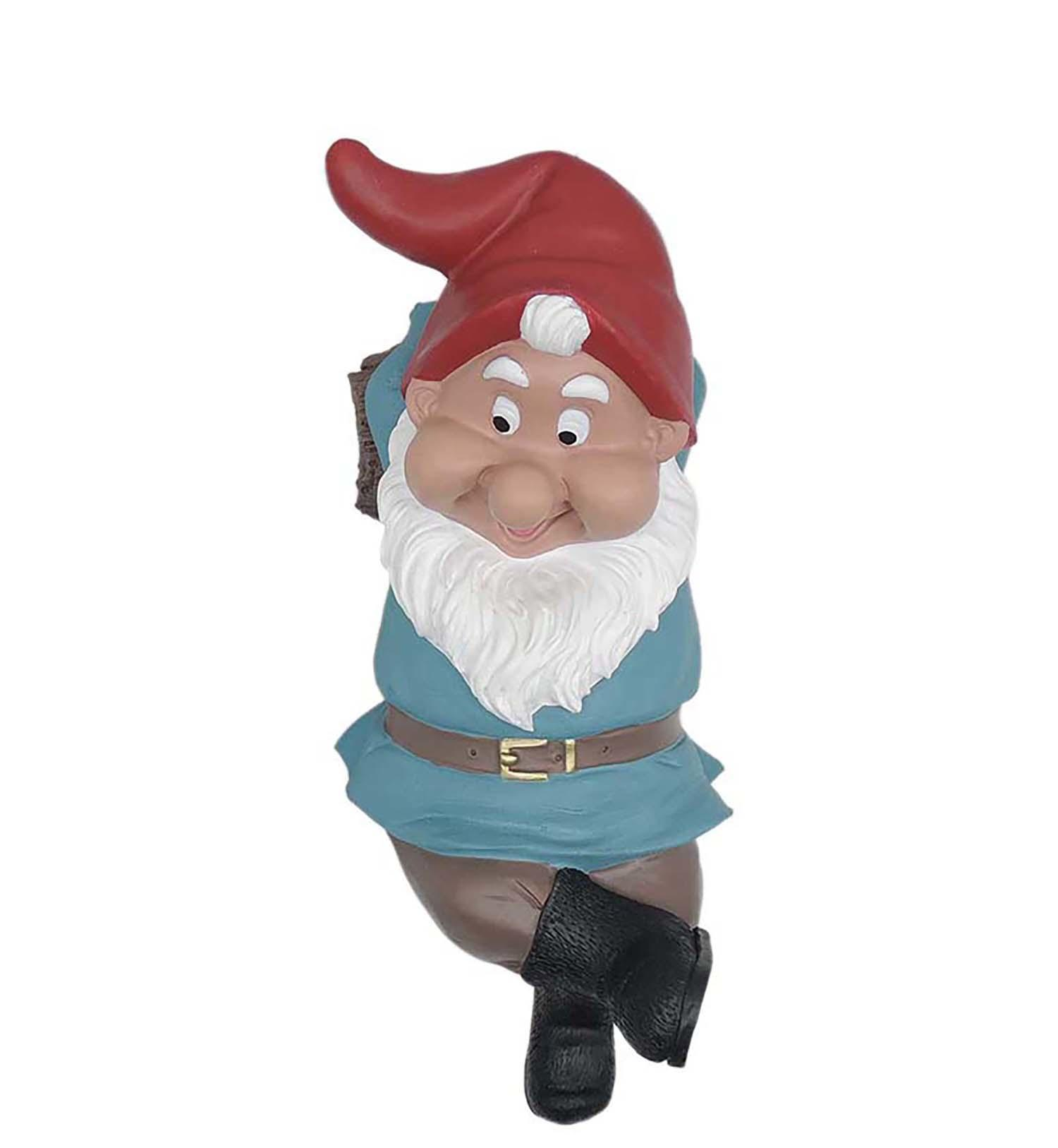Garden Gnome Statue Resin Unique Handmade Arts and Crafts for Garden Decoration PH15812