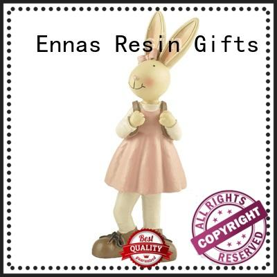 Ennas easter statue polyresin micro landscape