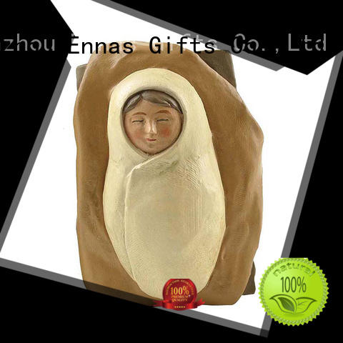 holding candle religious statues eco-friendly promotional
