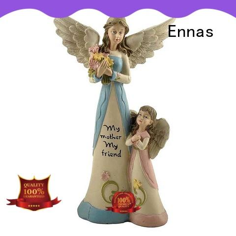 Ennas artificial angel figurines wholesale colored at discount