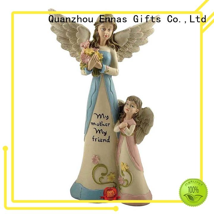 home decor guardian angel statues figurines lovely fashion