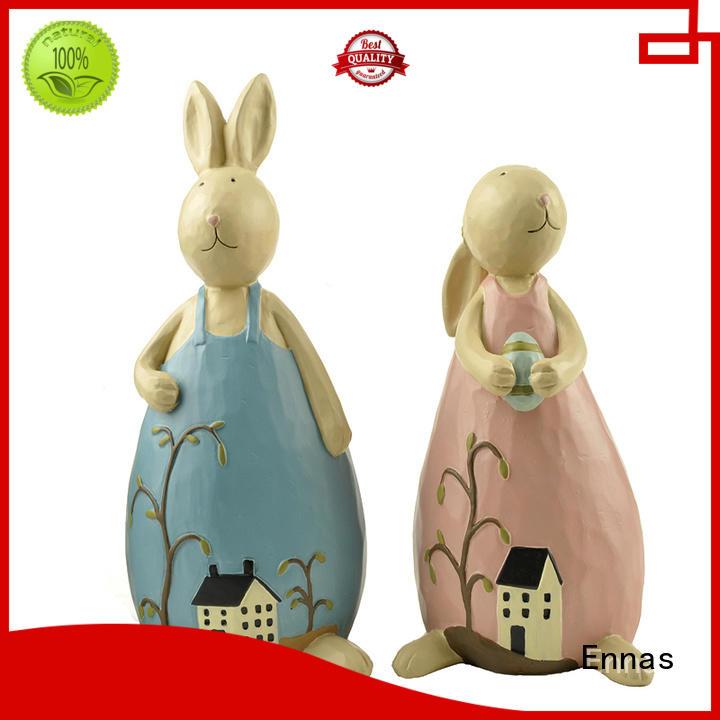 Ennas resin easter bunnies handmade crafts home decor