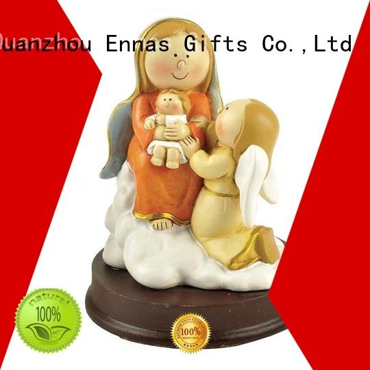 Ennas christmas religious sculptures hot-sale holy gift