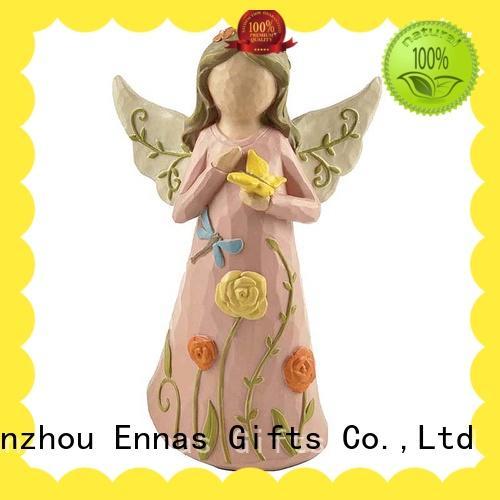 Ennas home decor beautiful angel figurines creationary for decoration