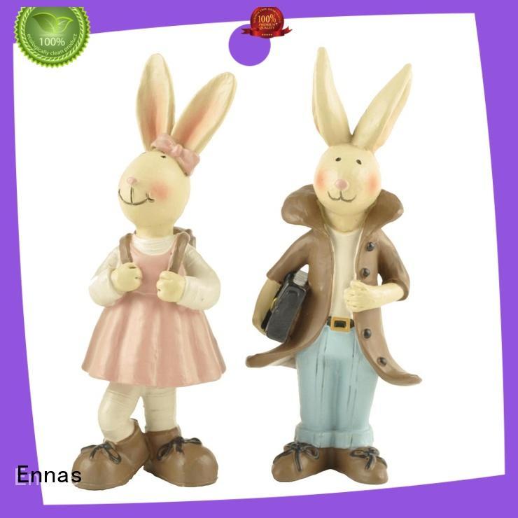 custom small animal figurines handmade hot-sale resin craft