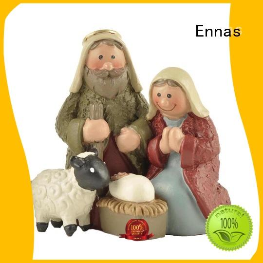 Ennas custom sculptures religious figurine hot-sale family decor