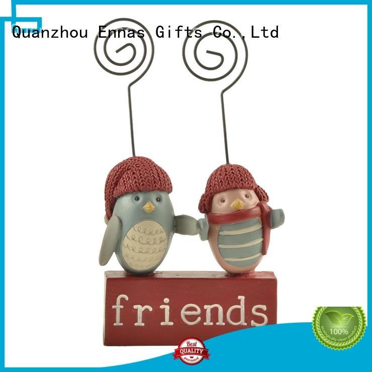 Ennas decorative animal figurine collections high-quality resin craft