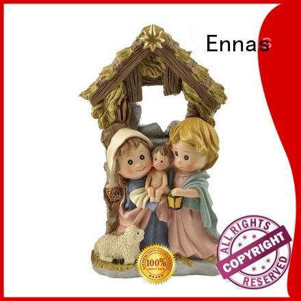 Ennas eco-friendly religious figures bulk production craft decoration