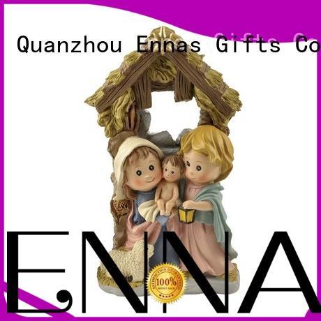 Ennas wholesale nativity set figurines promotional holy gift