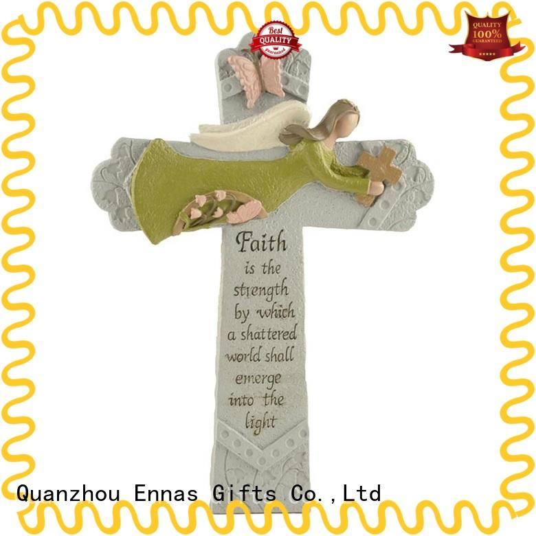 holding candle religious figures christian hot-sale family decor
