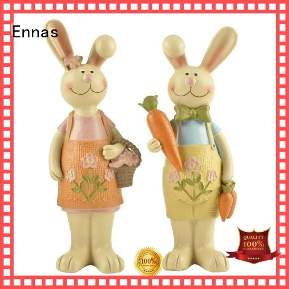 Ennas decorative easter bunny decorations handmade crafts for holiday gift