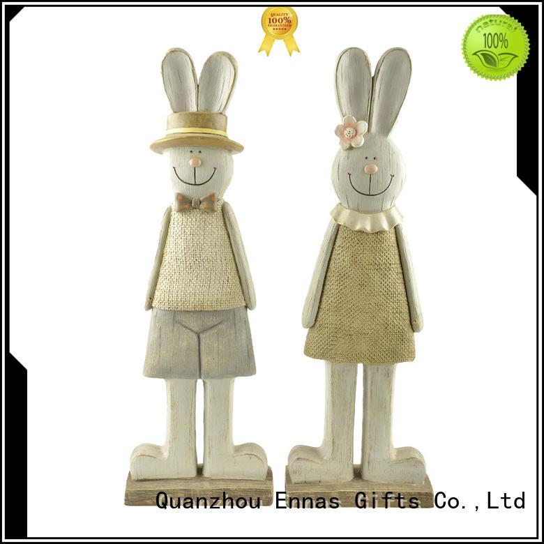 Ennas 3d wild animal figurines animal resin craft