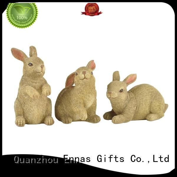 easter bunny decorations micro landscape